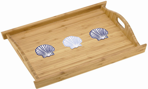 Gorham Merry Go Round She Sells Seashells wood tray