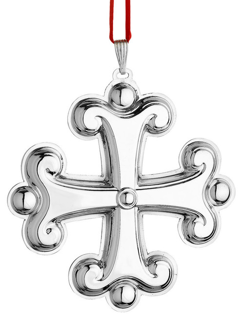 Reed & Barton Annual Cross Ornament 2015