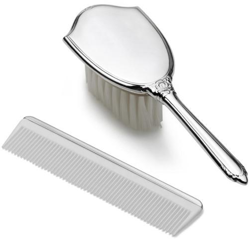 Empire Girls Plain Brush and Comb Set