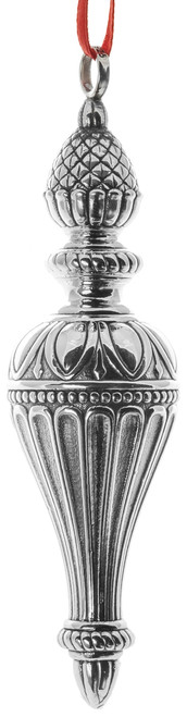 Barrett+Cornwall Classical Finial Drop Ornament