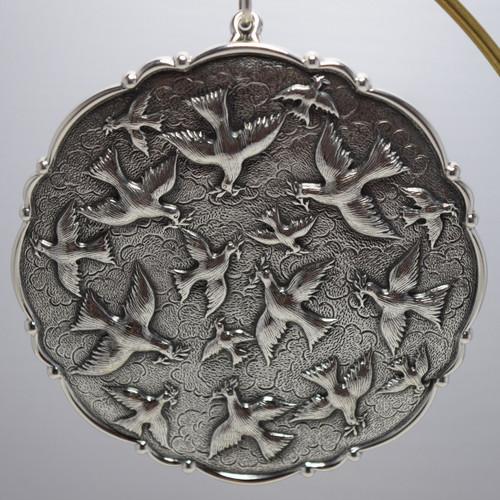 Buccellati Italy Annual Ornament 2003 - Doves of Peace
