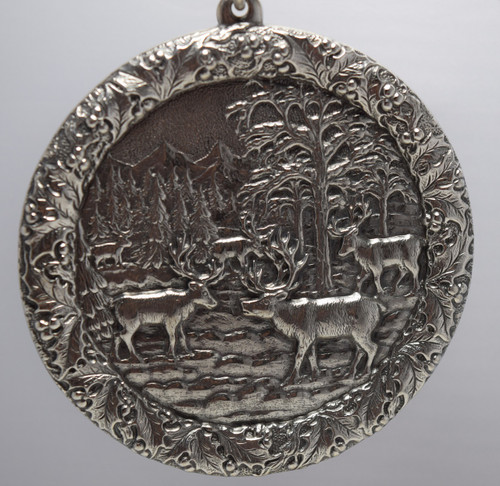 Buccellati Italy Annual Ornament 2005 - Reindeer Gathering