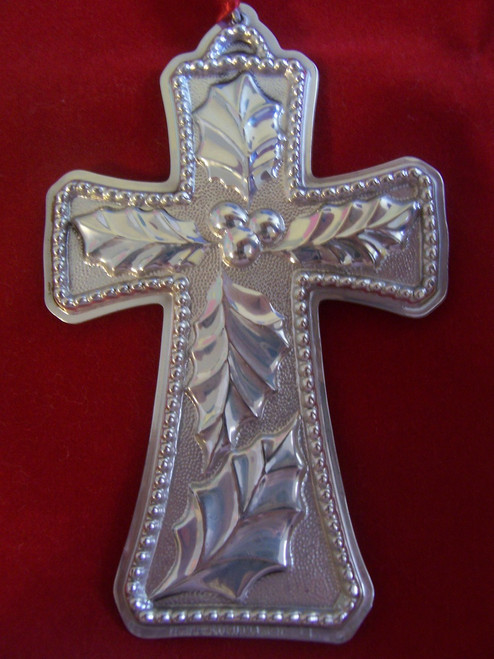 Towle Annual Cross Ornament 1994 - 1st Edition
