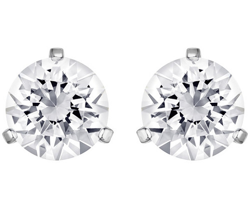 Swarovski Solitaire Stud Pierced Earrings Pair CLEARANCE