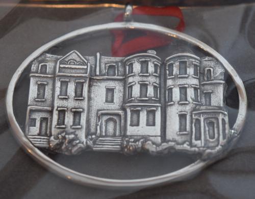 Hand & Hammer Richmond Rowhouses Ornament