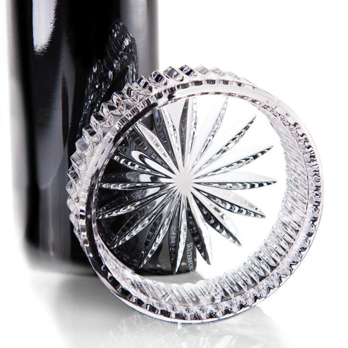 Waterford Crystal Somerset Heritage Wine Bottle Coaster