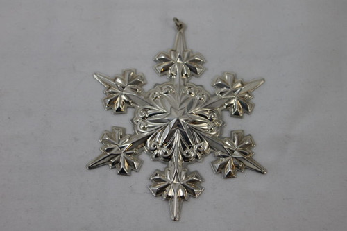 Gorham Annual Snowflake Ornament 2005