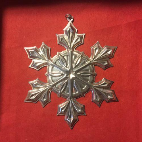 Gorham Annual Snowflake Ornament 2007
