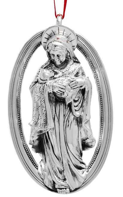 Barrett + Cornwall Annual Ornament 2018 - Madonna and Child