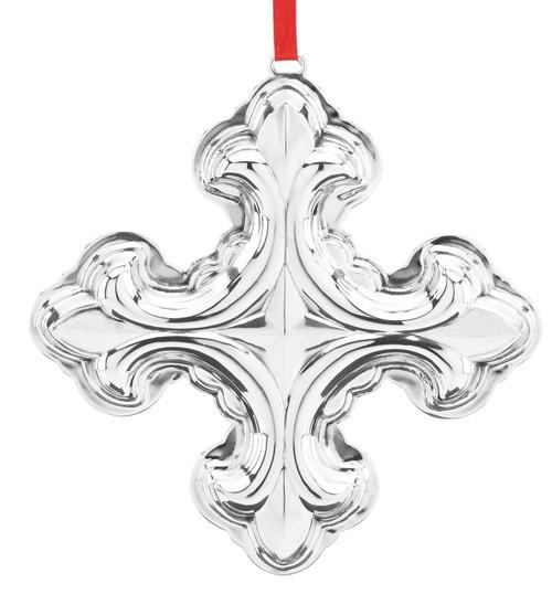 Reed & Barton Annual Christmas Cross Ornament 2018