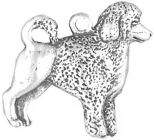 Hand & Hammer Dog Charm - Portuguese Water Dog
