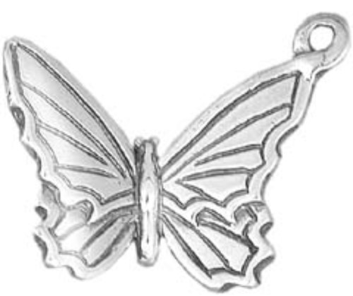 Hand & Hammer Butterfly Charm