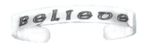 Hand & Hammer Believe Cuff Bracelet