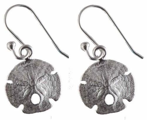 Oceano Jewelry Sand Dollar Wire Earrings