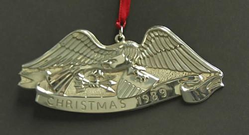 Gorham American Heritage Eagle Ornament 1989