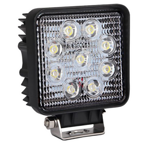 "Xtreme Lighting Products' 27 Watt Epistar LED 5"" Square Work Light"