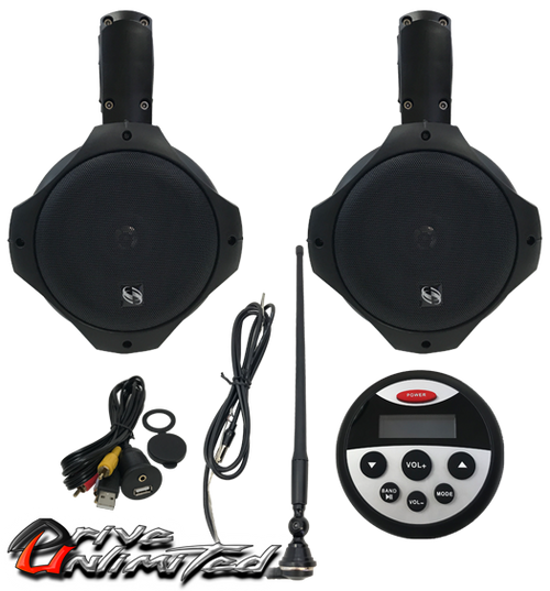 Drive Unlimited's Universal UTV Stereo System
