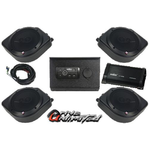Polaris RZR 1000 2013 & Up Bluetooth Amp Stereo System