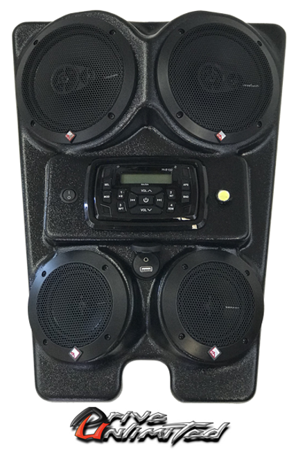 Drive Unlimited's Yamaha YXZ 1000 Stereo System