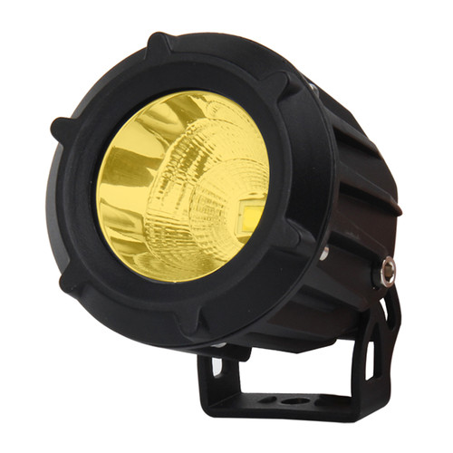 """Xtreme Lighting Products' """"ELEMENT"""" - 3.5in CREE LED Round Work Light - Amber  - Flood"""