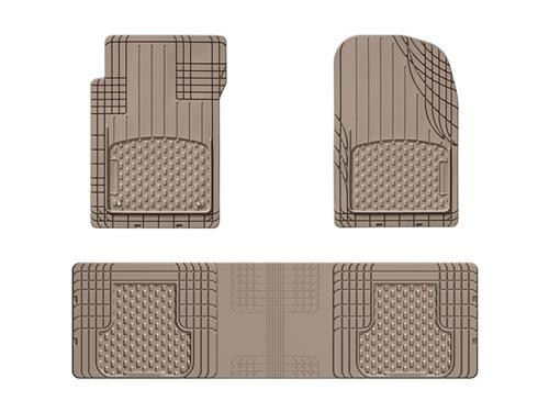 WeatherTech All Weather Cut to Fit Floor Mat- 3 Piece
