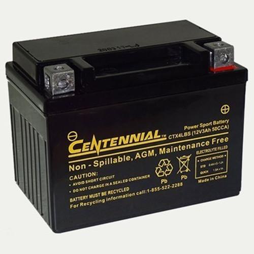 Centennial CTX4LBS Powersports Battery