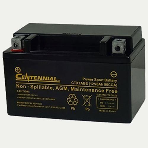 Centennial CTX7ABS Powersports Battery