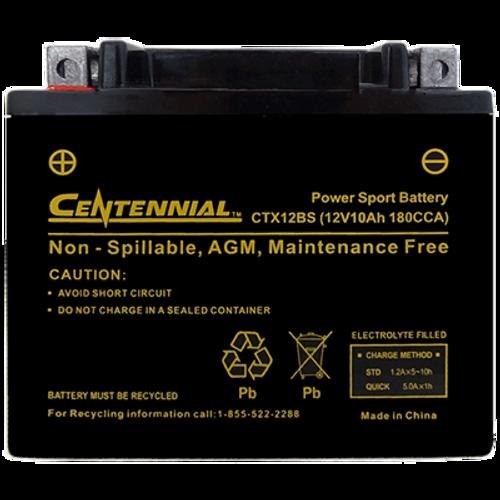 Centennial CTX12BS Powersports Battery