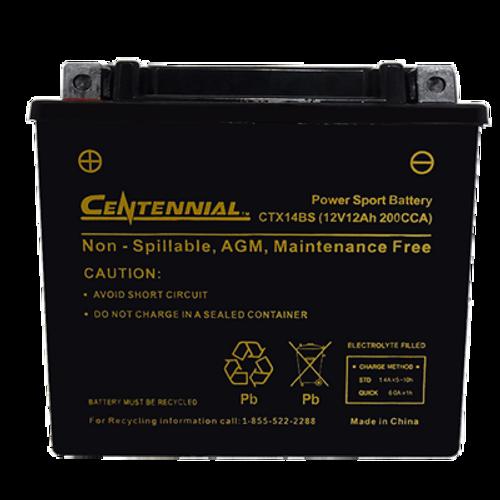 Centennial CTX14BS Powersports Battery