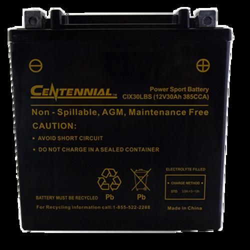 Centennial CIX30LBS Powersports Battery