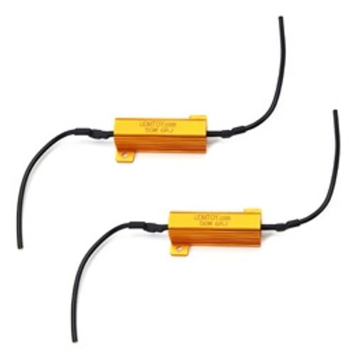 Xtreme Lighting Products' LED Load Resistors for LED Turn Signal Lights or LED License Plate Lights