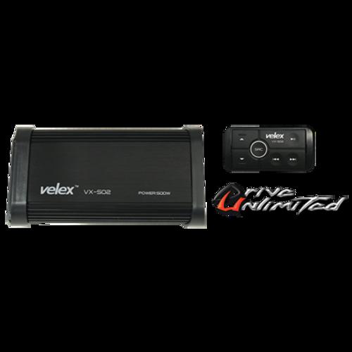 Wireless Velex 4-channel Bluetooth Amplifier - 500 Watts (ON SALE NOW)