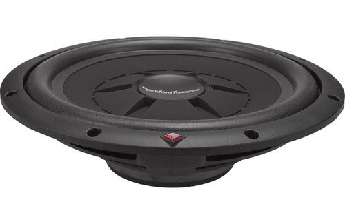 Rockford Fosgate's Prime R2SD2-12 shallow-mount subwoofer