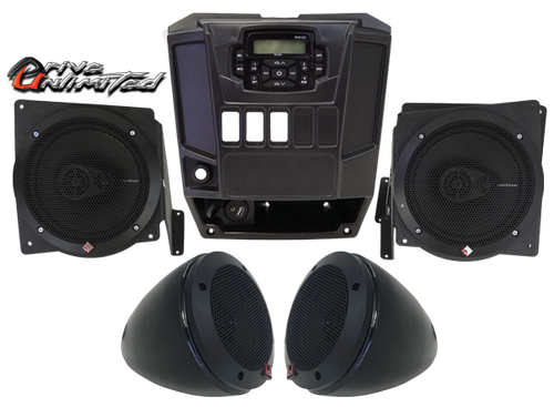 Drive Unlimited's Polaris Ranger 900 Fullsize In Dash Stereo System