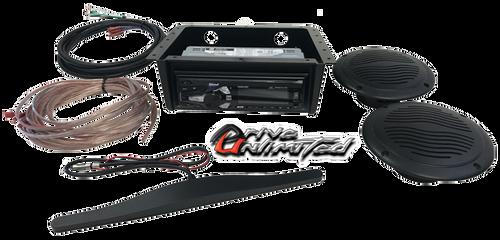 Drive Unlimited's Kubota KX 121 Mini Excavator Stereo Kit