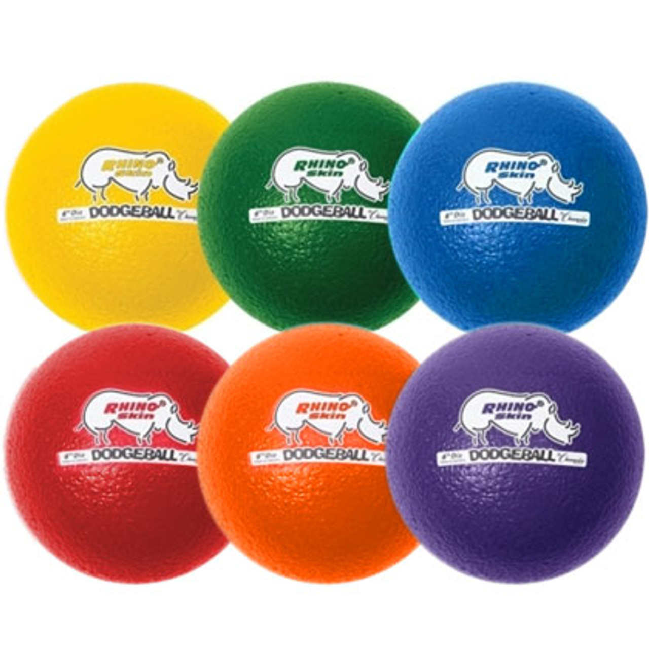 Rhino World Dodgeball Set