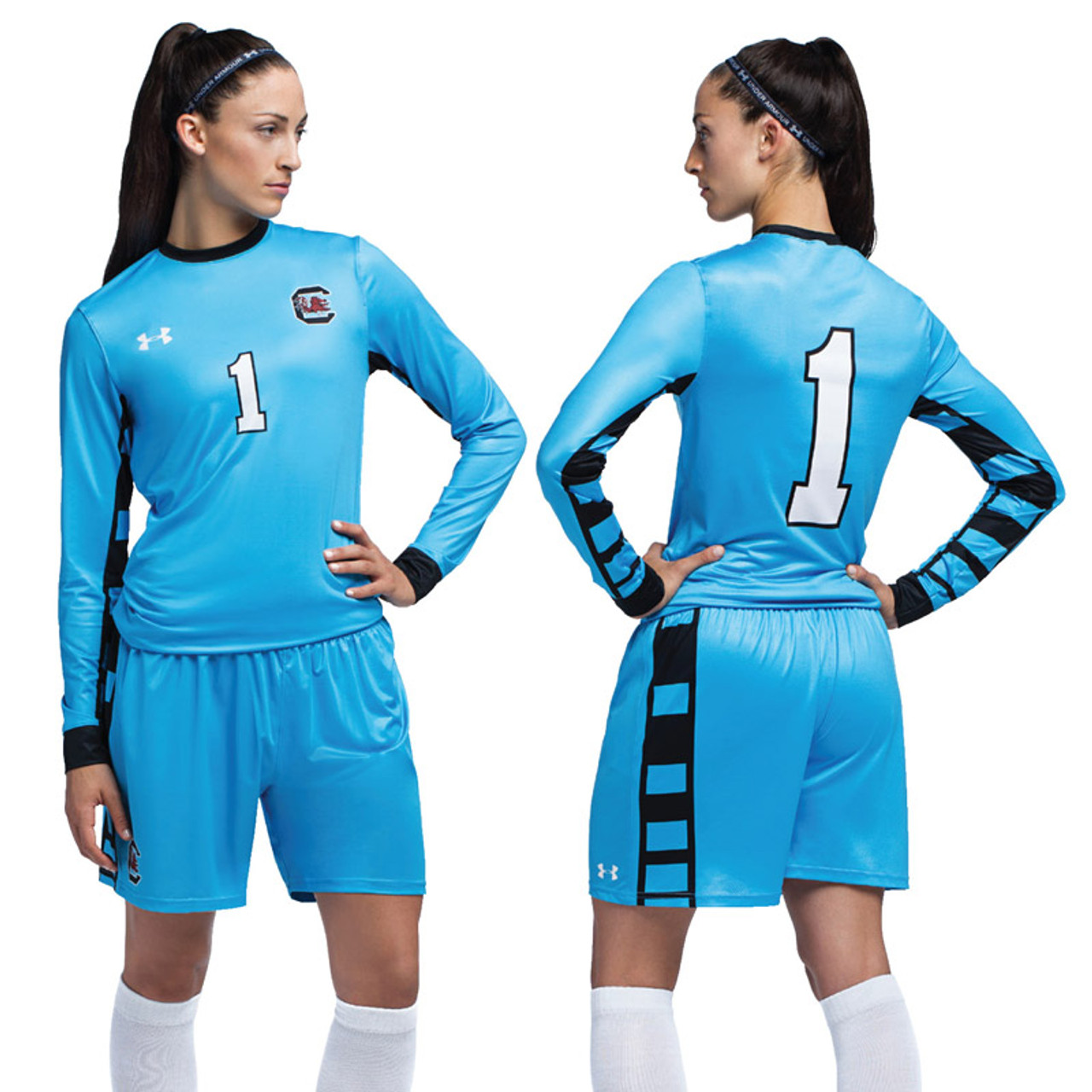 buy online 94f95 30435 Under Armour Women's Armourfuse Long Sleeve Soccer Jersey - Control