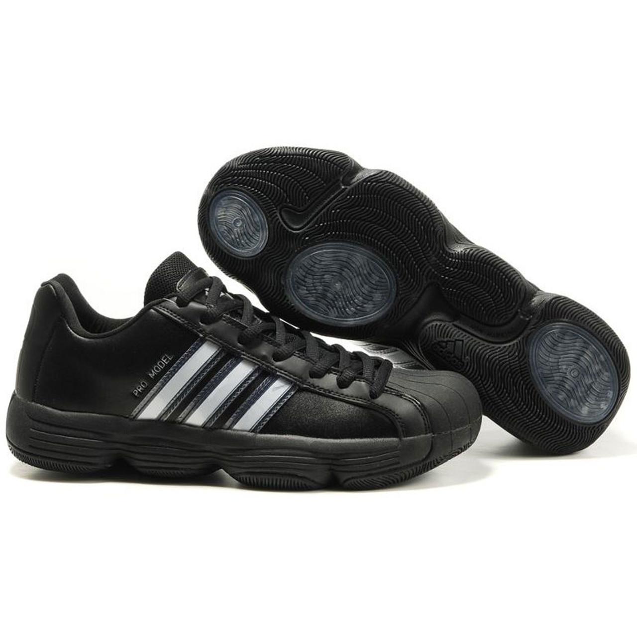 Adidas Pro Model 06 Mens Team Basketball Shoe Black