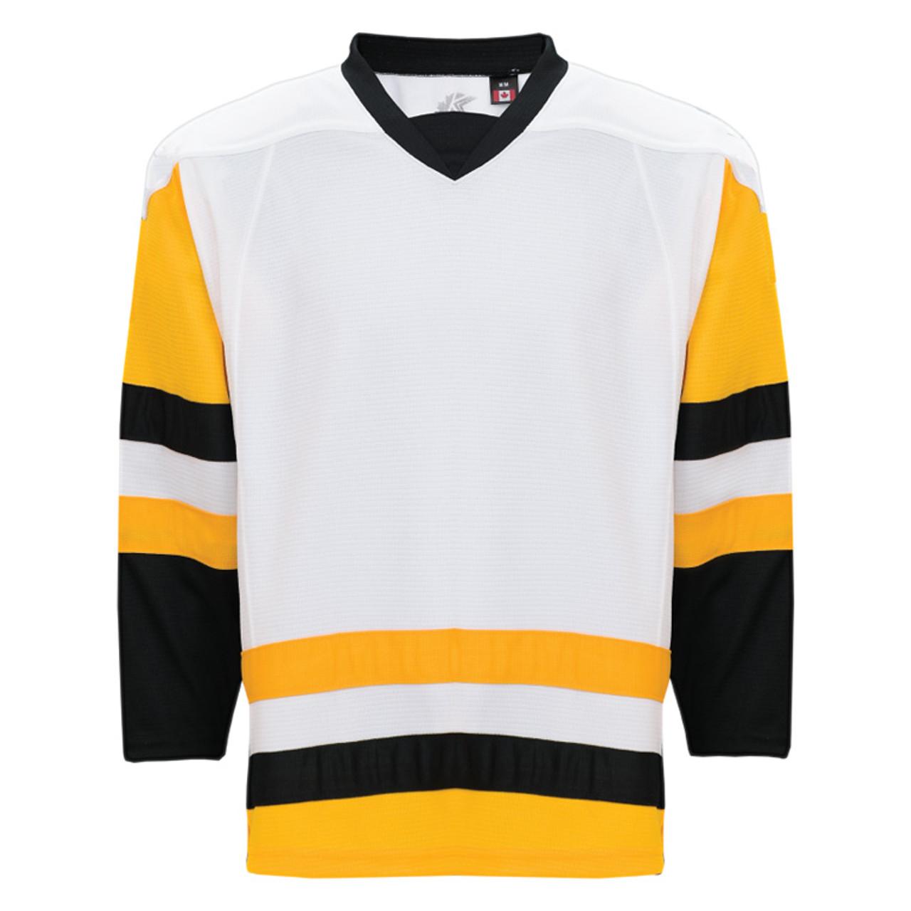 the best attitude 8fd62 aeba2 Kobe Pittsburgh White-K3G Youth Hockey Jersey-K3G87YH
