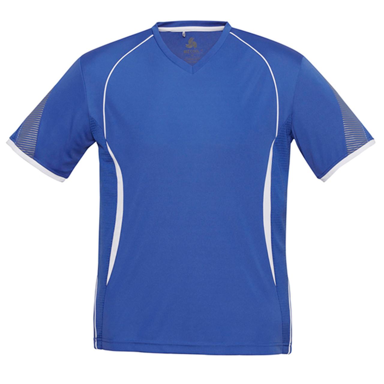 Gilbert Vapour Tee T-Shirt Mens Sports rugby white Crew Neck Top mens medium