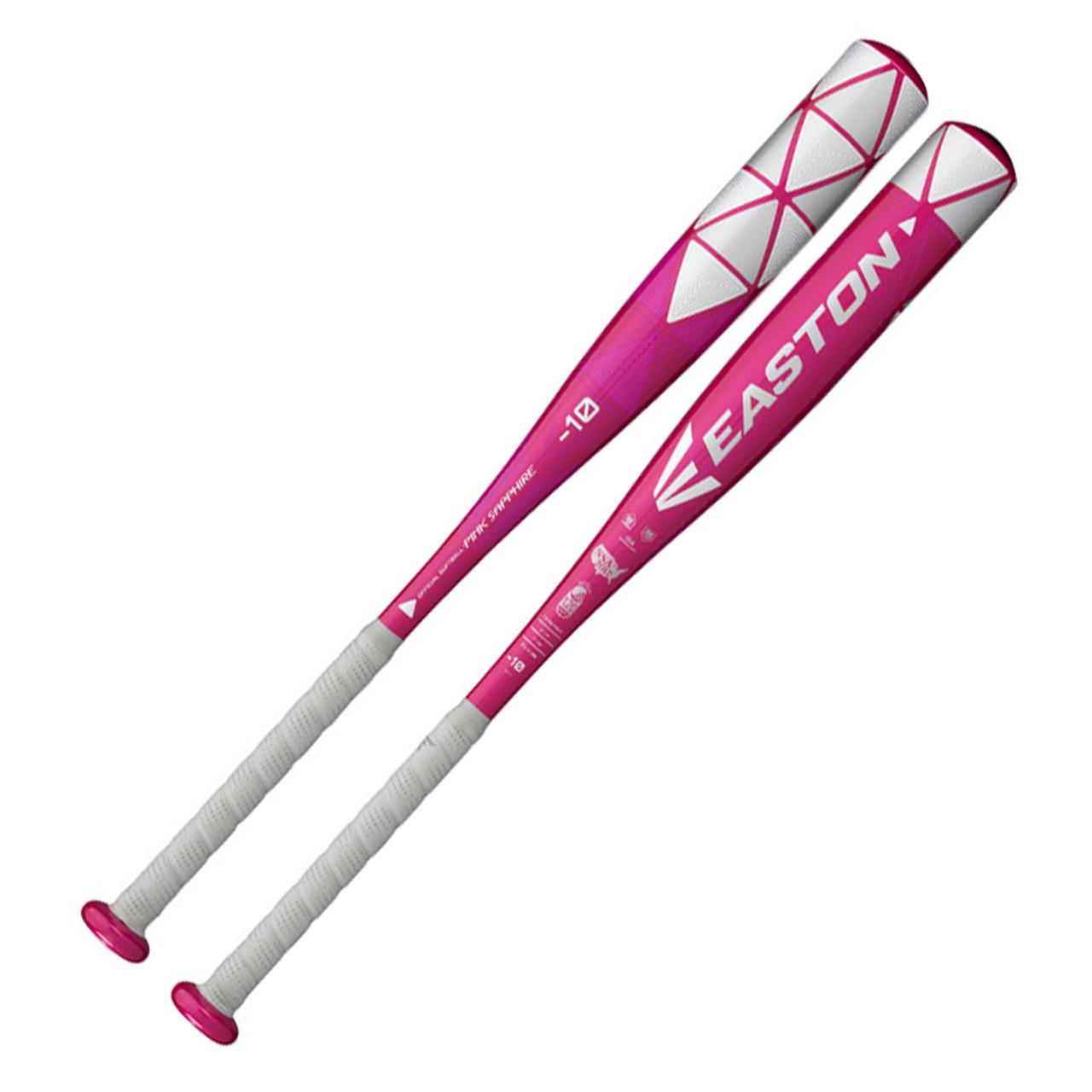 2018 Easton Pink Sapphire Fastpitch Softball Bat