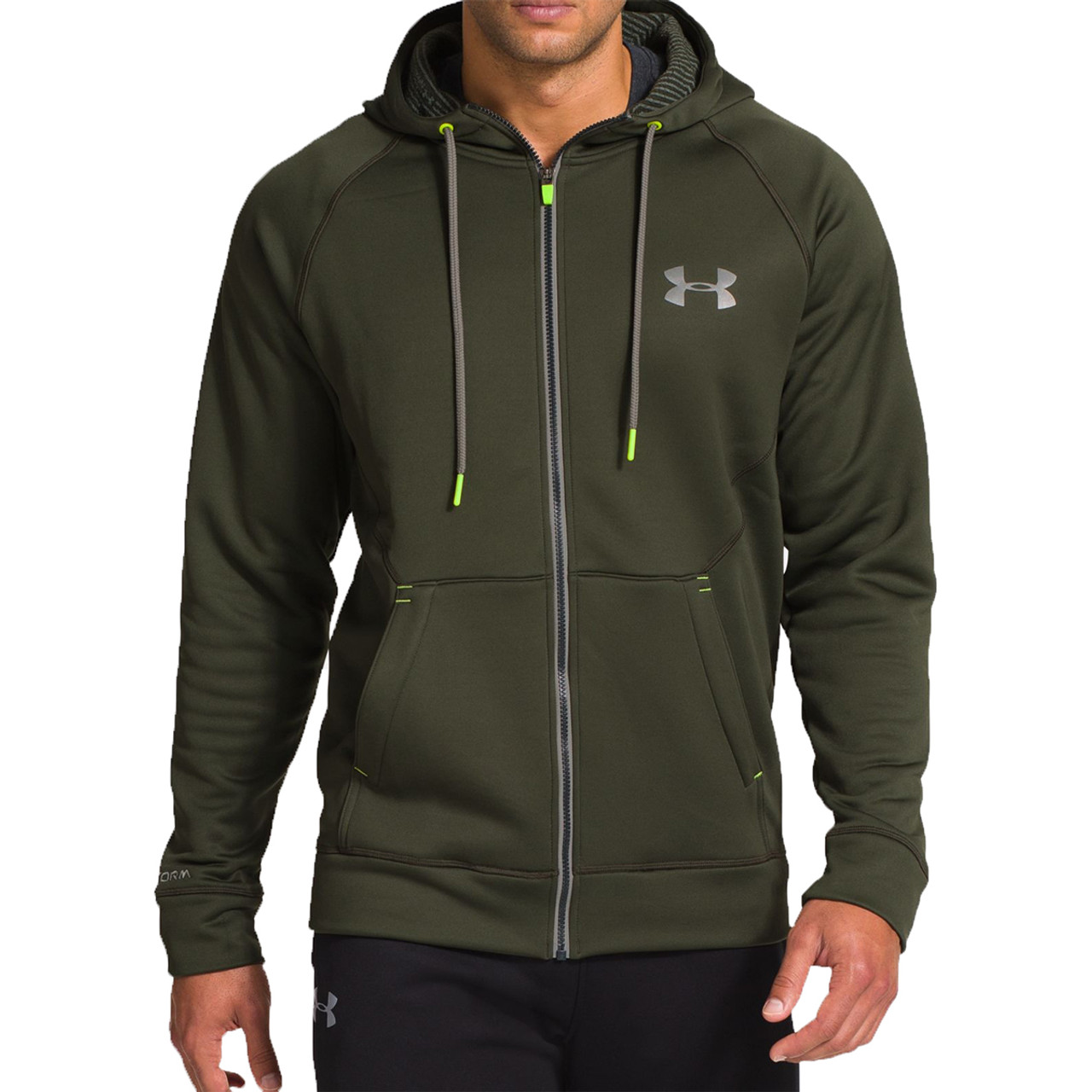 2450a26c Under Armour Men's Cold Gear Infrared Storm full Zip Hoodie