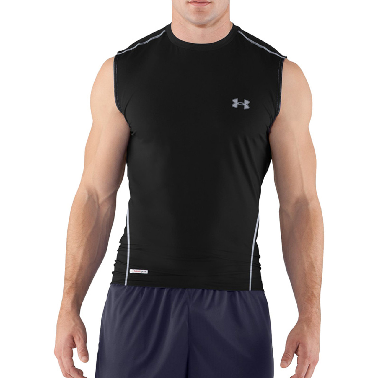 eaff9000 Under Armour Men's ® Sonic Fitted Sleeveless Tank Top
