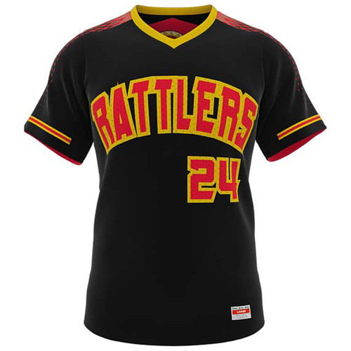 AthElite Mens Dinger Double Play Reversible Baseball Birdeye Jersey (AE-BA-JS-182)