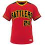 AthElite Mens Dinger Double Play Reversible Baseball Mesh Jersey (AE-BA-JS-180)