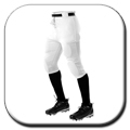 Alleson Athletics Football Pants - Youth height=