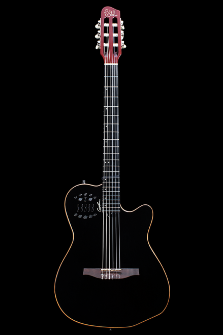 Godin ACS Slim Cedar Black HG