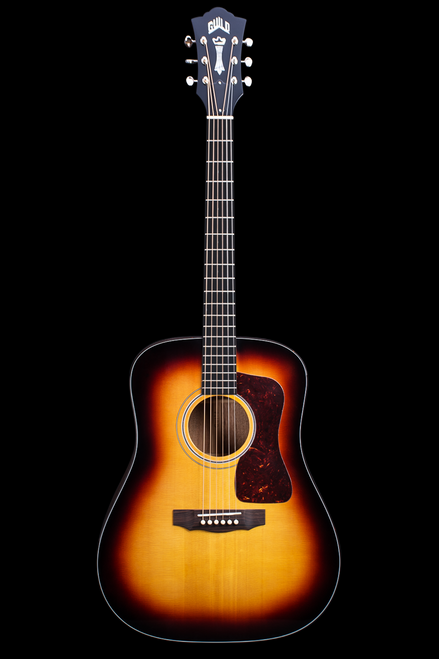 D-40 Traditional Antique Burst Finish