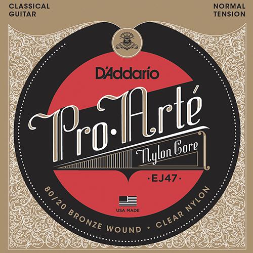 D'Addario EJ47 Pro-Arte Strings (front)