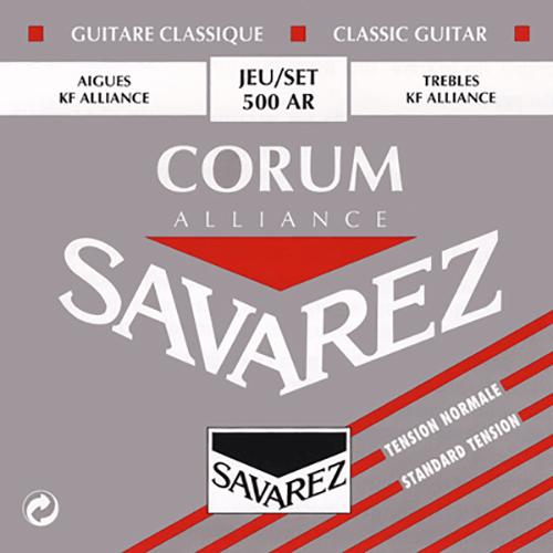 Savarez 500AR Alliance Corum, Normal Tension Strings (front)